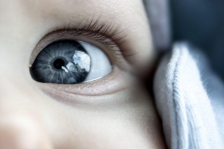 Baby Eye Detail Photo