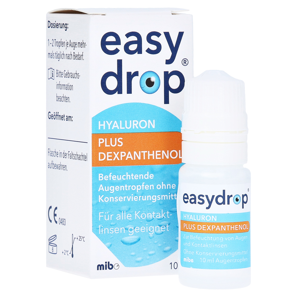Easydrop Hyaluron + Dexpanthenol Augentropfen