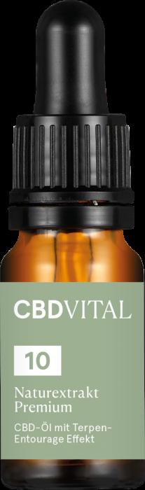 CBD Naturextrakt PREMIUM Öl (10%)