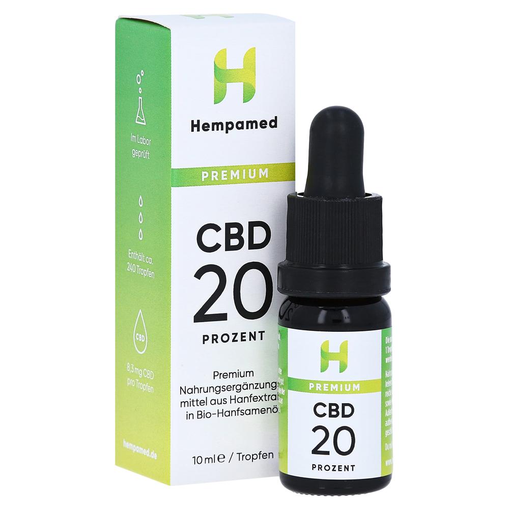 HEMPAMED Premium CBD 20% Tropfen