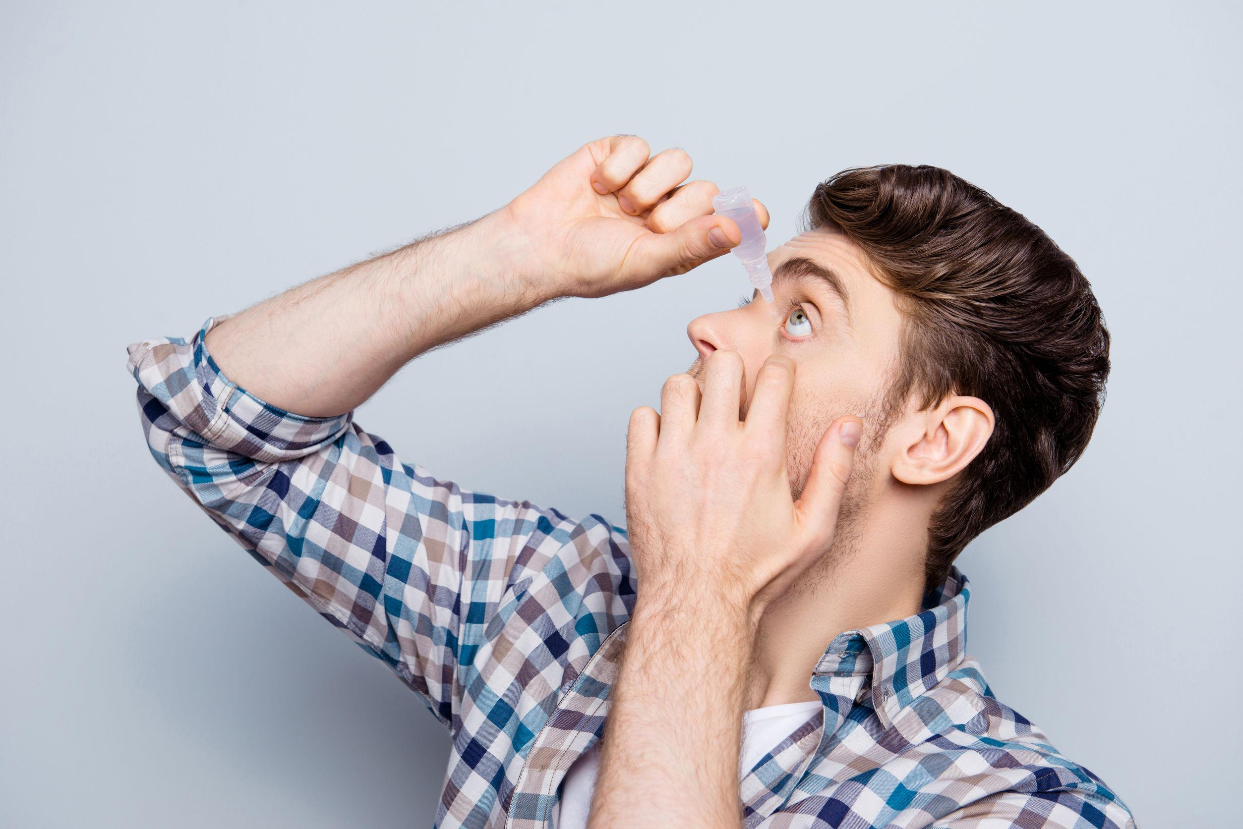 Augentropfen bei Allergie