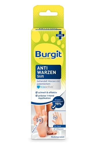 Burgit Anti Warzen Stift- gegen Warzen- Warzenbehandlung- einfache und effektive Warzenentfernung- für gemeine Warzen an Hände & Füßen, 2ml