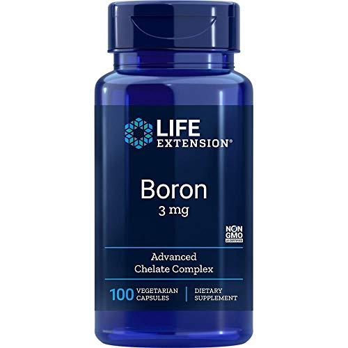 Life Extension, Boron, 3 mg, 100 vegetarische Kapseln