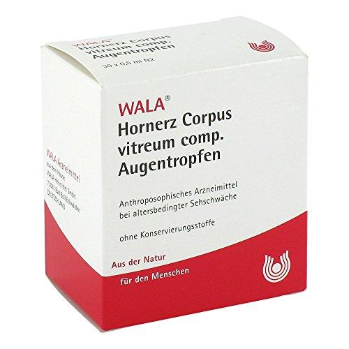 WALA Hornerz corpus vitreum comp. Augentropfen, 30 St. Lösung